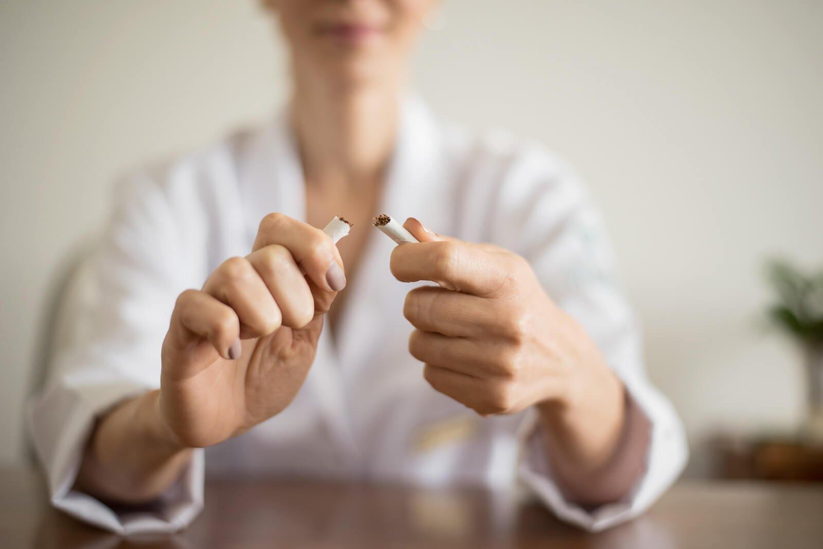 Orientações Kur para parar de fumar
